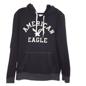 Small American Eagle Sweatshirt Hoodie
